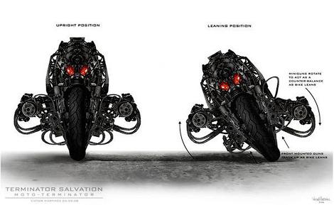 Мотоцикл терминатор фото