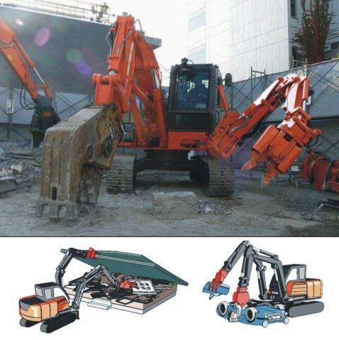 """""""Двурукий"""" экскаватор от Hitachi Construction Machinery"""