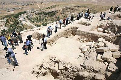 В Иродионе могила царя Ирода открывает свои тайны (фото)