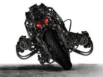 Мотоцикл-терминатор появится в следующей серии трилогии