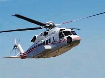 Вертолет Sikorsky S-92. В США полеты запрещены