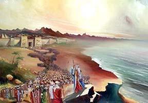 Народ Израиля - рабы - в одночасье стал новым народом, принципиально отличным от всех...  Покидая Египет и взяв с...