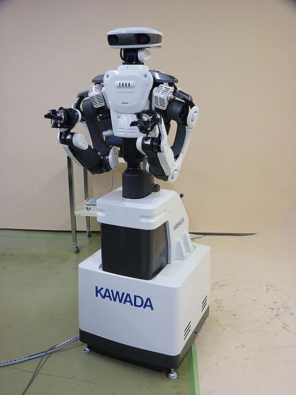 NEXTAGE - робот-андроид для работы на производстве