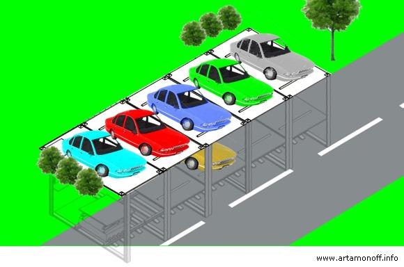 Artamonoff technologies Парковка. Маленькое решение большой проблемы