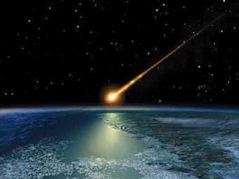 Падение астероида средних размеров вызовет резкое снижение концентрации озона в атмосфере