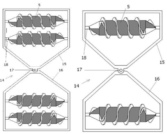 Теш-Драйв. Эволюция шнеко-роторного движителя