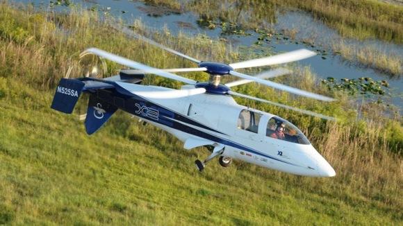 Скоростной вертолет X2 совершил последний полет