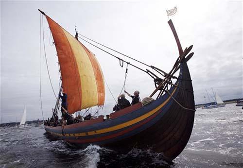 средневековых лодок