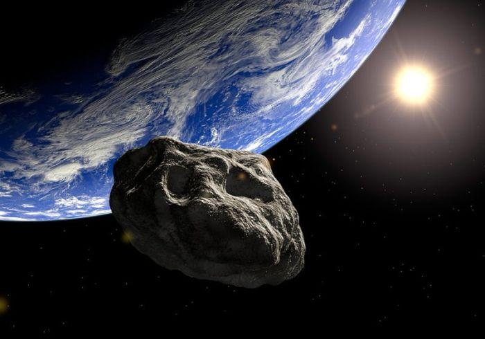Падение астероида на Землю могло заразить бактериями другие звезды