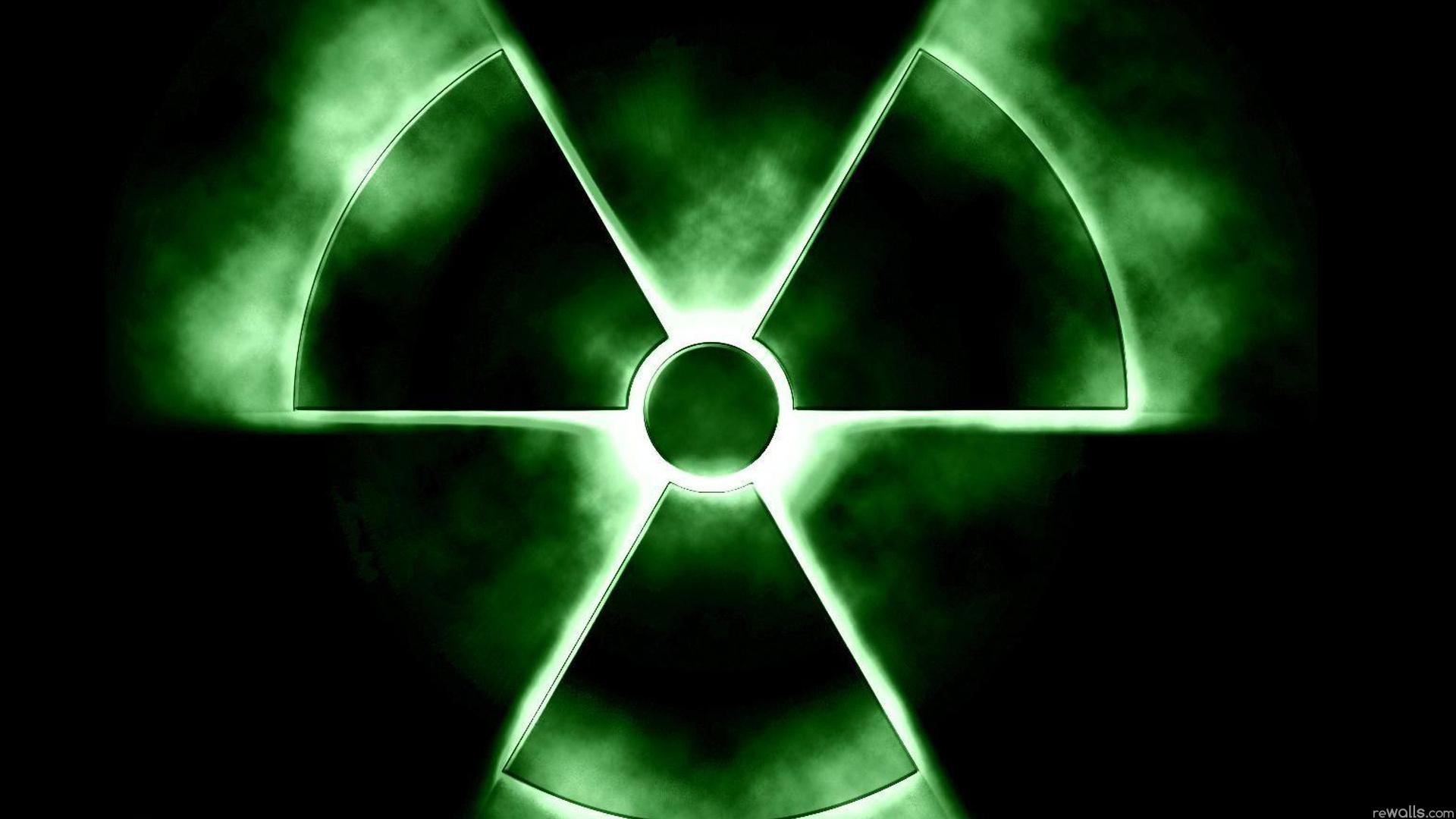 Широкоформатные обои для рабочего стола радиация