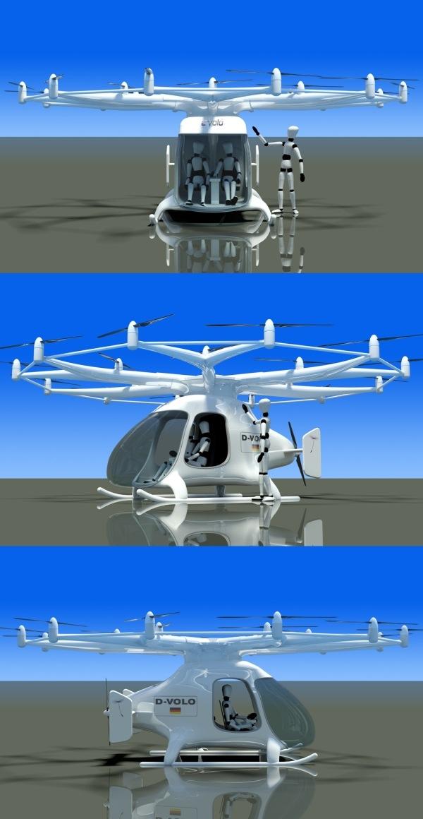 18-винтовой вертолёт может быть безопаснее и экономичнее обычного