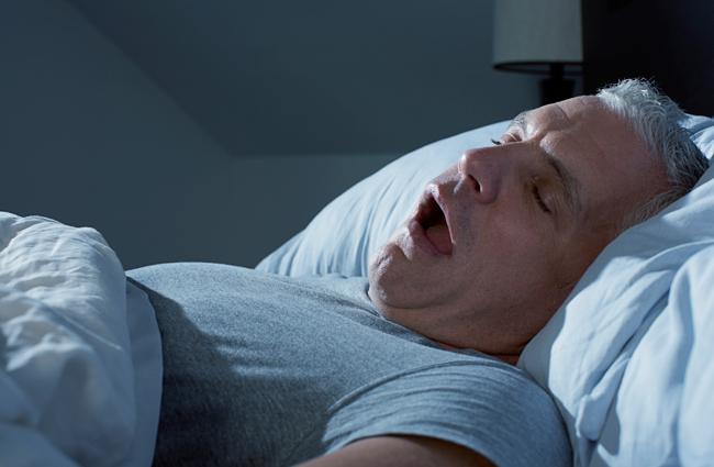 Рот открывается во время сна