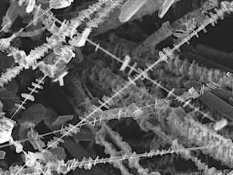 """Наношашлык"" - кристаллическая наноструктура с широкими перспективами"