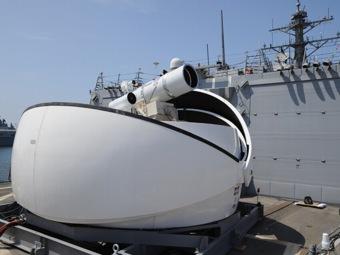 ВМФ США впервые установил на боевом корабле лазерное оружие