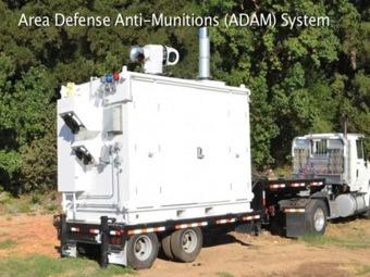 Мобильная лазерная установка ADAM прошла успешные испытания