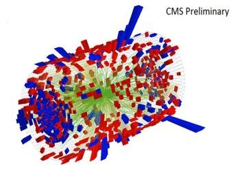 На Большом адронном коллайдере получены самые маленькие капли в мире