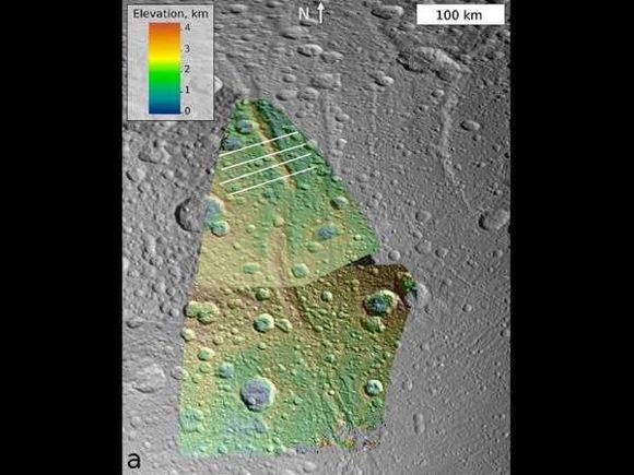 На спутнике Сатурна Дионе обнаружены подземные океаны