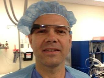 Google Glass впервые участвуют в хирургической операции
