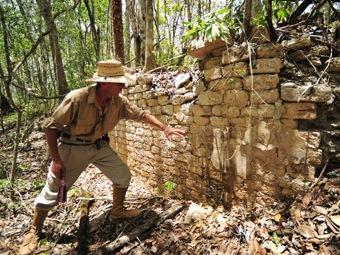 Под покровом джунглей найден неизвестный город майя