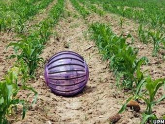 Робот-шарик покатится по полям и поможет фермерам