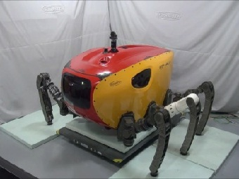 Crabster: «ракообразный» робот для изучения подводного мир