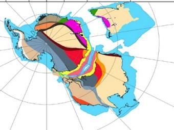 Как раскололся суперконтинент Гондвана? Представлена подробная карта