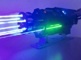 Лазерный пулемет от Патрика Прибе
