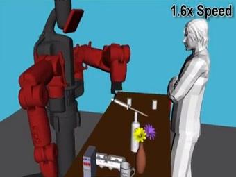 Робот-кассир учится обращаться с острыми и хрупкими предметами
