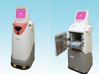 Новый японский робот для больниц