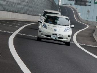Самоуправляемый автомобиль Nissan Leaf: первая поездка по японскому шоссе