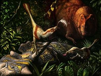 Новый вид рапторов - современников тираннозавров