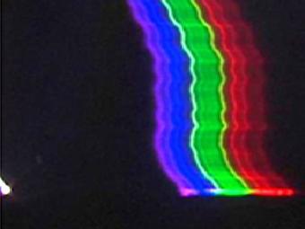 Шаровую молнию впервые засняли на видео (а также на спектрографы)