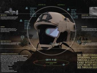Q –Warrior – головной дисплей на поле боя