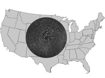 NASA выпустило интерактивную карту Северного полюса Луны
