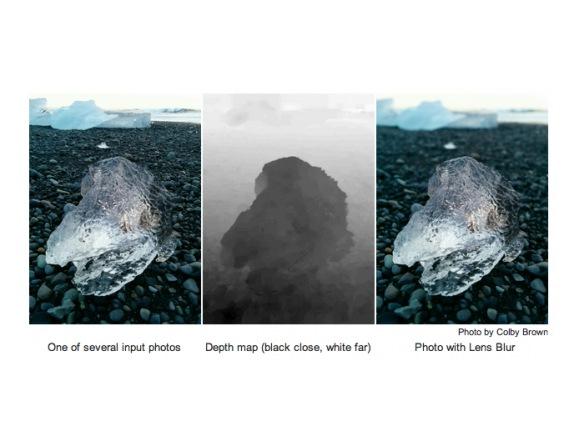 Приложение Google Camera имитирует размытие изображений