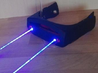 Настоящие лазерные очки от Патрика Прибе