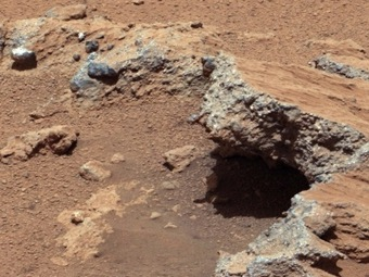 На Марсе совсем недавно была вода