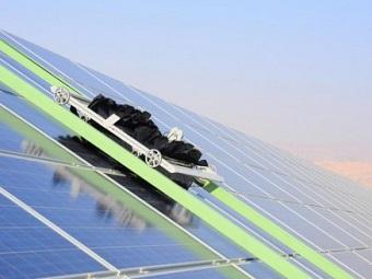 Способная к самоочищению солнечная панель