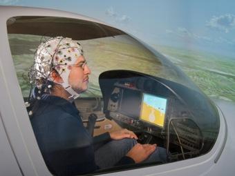 Управление самолетом с помощью силы мысли стало возможным