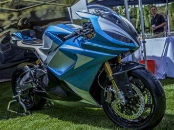 Электробайк Lightning LS-218 – самый быстрый серийный мотоцикл на планете