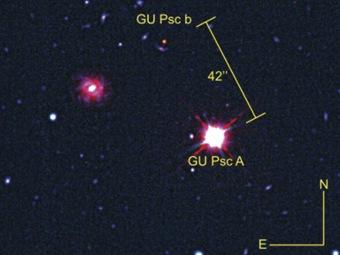 Обнаружена удивительно далекая от своей звезды планета