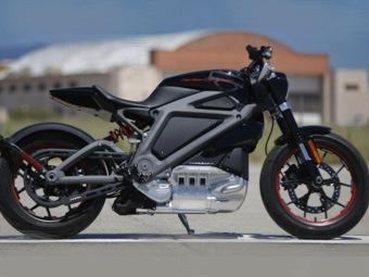 Электрический мотоцикл Харлей-Дэвидсон