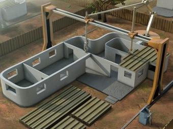 Революционная технология 3D-печати здания получила награду NASA