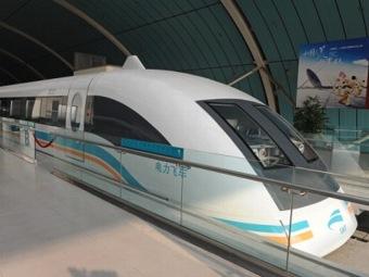 Япония проводит первое публичное испытание нового сверхбыстрого поезда