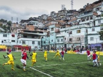 Первый в мире кинетический футбольный стадион в Рио-де-Жанейро